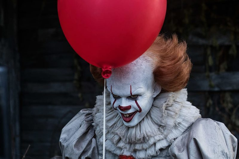 Bill Skarsgård as It, also known as Pennywise