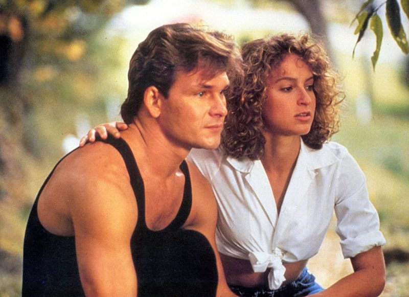 Baby and Johnny in Dirty Dancing 1987