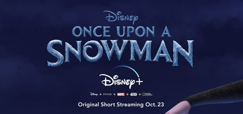 Frozen's Olaf stars in Once Upon a Snowman - coming to Disney Plus UK in October 2020