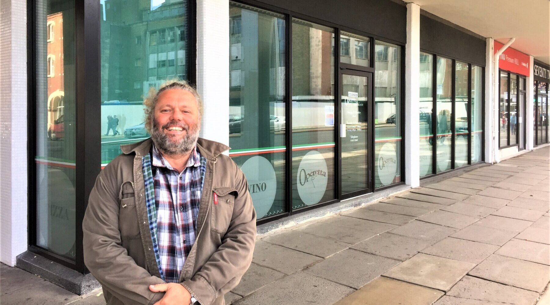 Yiannis Makris outside the former Operetta which will now become the new Artemis Greek Taverna on Bond Street, Hull.