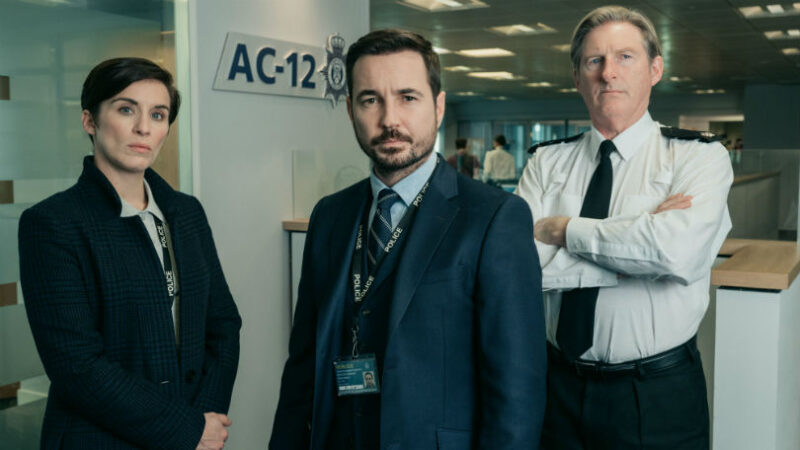Coming to Netflix UK in October 2020: Season 5 of British drama, Line of Duty, starring Martin Compston, Vicky McClure, Adrian Dunbar (c) Kew Media.