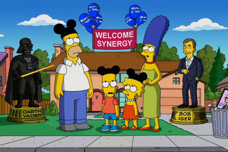 Coming to Disney+ UK November 2020: Will it ever die? The Simpsons are back for their 31st season with guest appearances from the likes of Bill Porter, Jane Goodall, Jason Momoa, Cate Blachett, and the MCU's very own, Kevin Feige (c) Disney/Fox