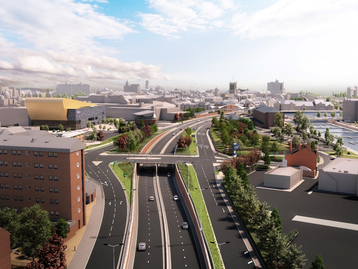 Highways England has granted Hull City Council £1m to carry out improvements on Hull's roads.