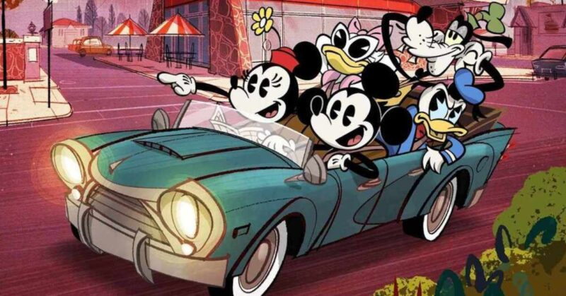 Coming to Disney+ Christmas 2020: Mickey and the gang are back. (c) Disney+