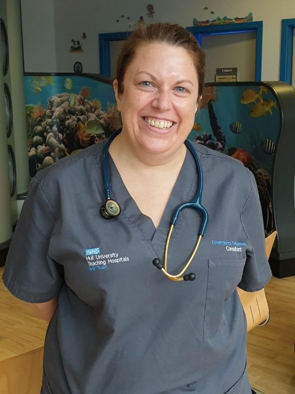 Dr Liz Herrieven, consultant in paediatric emergency medicine