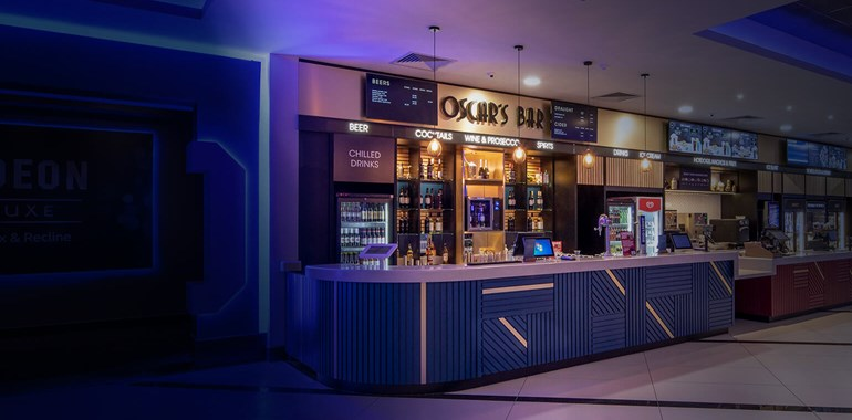 Hull's new Odeon Luxe Cinema has it's own bar