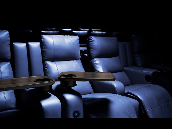 Odeon Luxe Cinema has the comfiest reclining leather seats in Hull