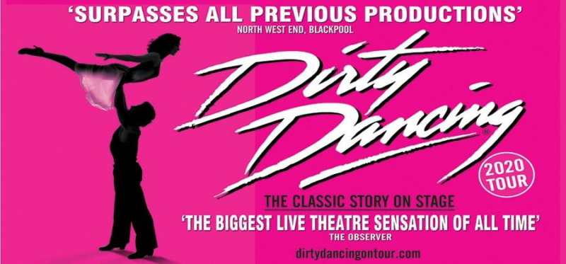 Dirty Dancing on stage at Hull New Theatre 2021