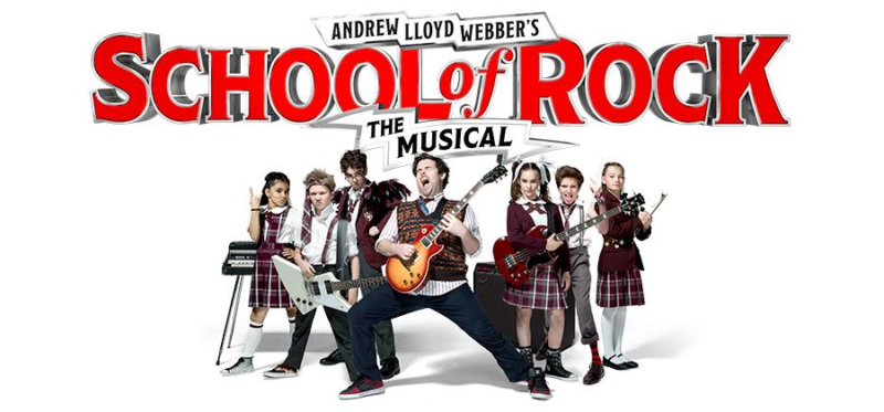 School of Rock The Musical at Hull New Theatre 2021