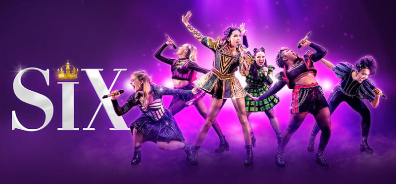 SIX The Musical at Hull New Theatre 2021